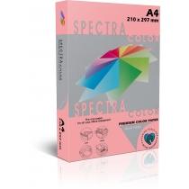 Бумага цветная SINAR SPECTRA, А4, 155 г/м2, 250 л, неон,  розовая