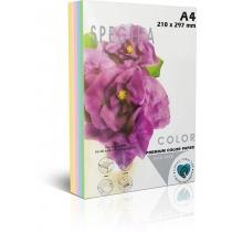 Бумага цветная SINAR SPECTRA Rainbow Pack Light  А4 80 г/м2, 250 л, пастель, 5 цветов