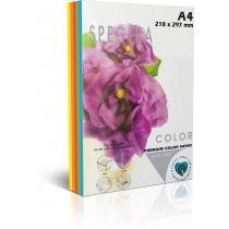 Бумага цветная SINAR SPECTRA, Rainbow Pack Deep , А4, 80 г/м2, 250 л, пастель,  5 цветов