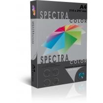 Бумага цветная SINAR SPECTRA А4 80 г/м2, 500 л, интенсив, черная