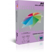 Бумага цветная SINAR SPECTRA А4 160 г/м2, 250 л, интенсив, фиолетовая