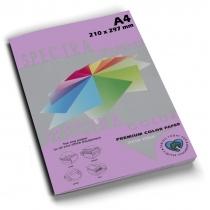 Бумага цветная SINAR SPECTRA, А4, 80 г/м2, 100 л, интенсив, фиолетовая