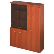 Шкаф гардероб 1500 * 450 * 2000мм, Диалог, в правом исполнении