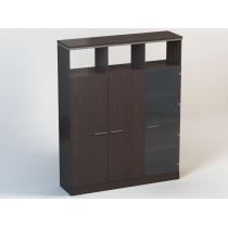 Шкаф N4.26.15 (лево), Ньюмен, 1502 * 400 * 1882 мм