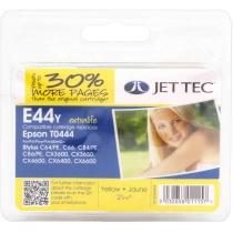 Картридж Jet Tec EPSON Stylus C64/C84 Yellow + 30% (110E004404) E44Y