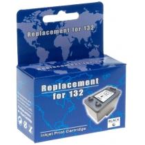 Картридж струйный MicroJet HP C9362HE (HC-F33D) №132 Black