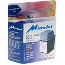 Картридж MicroJet HP DJ 6xx (51649A) (HC-04) Color