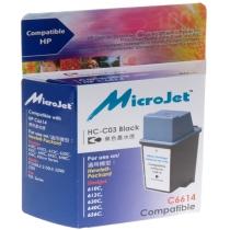 Картридж струйный MicroJet HP DJ 610С (C6614A) (HC-C03) Black