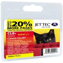 Картридж CANON Pixma iP4200/iP6600/CLI-8 Yellow (110C000804) CL8Y Jet Tec