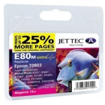 Картридж EPSON Stylus Photo P50/PX660/PX720WD Magenta (110E008003) E80M Jet Tec