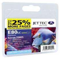 Картридж EPSON Stylus Photo P50/PX660/PX720WD Light Cyan (110E008005) E80LС Jet Tec
