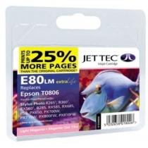 Картридж EPSON Stylus Photo P50/PX660/PX720WD Light Magenta (110E008006) E80LM Jet Tec