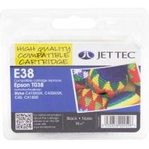 Картридж EPSON Stylus C41UX/SX Black +30% (110E003801) E38 Jet Tec
