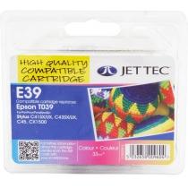 Картридж EPSON Stylus C41UX/SX Colour +30% (110E003913) E39 Jet Tec