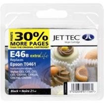 Картридж EPSON Stylus C63/CX6300 Black + 30% (110E004601) E46B Jet Tec