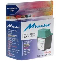 Картридж струйный HP DJ 4xx/5xx (51626A) Black (HC-01) MicroJet