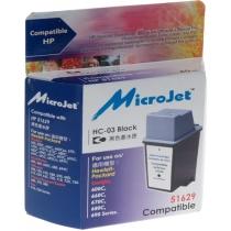 Картридж HP DJ 6xx (51629A) Black (HC-03) MicroJet