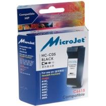 Картридж струйный HP DJ 840C (C6615D) Black (HC-C05) MicroJet