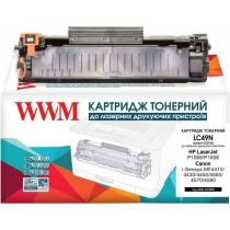 Картридж тонерный для HP LJ P1566/P1606/Canon 728