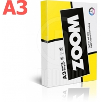Бумага офисная ZOOM A3, 80г / м2, 500л, класс C