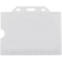 Бейдж горизонтальный, 105х74 мм, PP+PVC