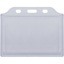 Бейдж горизонтальный, 105х74 мм, ABS+PVC