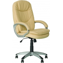 Кресло BONN, ECO-07, искусственная кожа, молочное, Украина