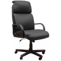 Кресло NADIR, SP A, с элементами кожи, черное, Украина