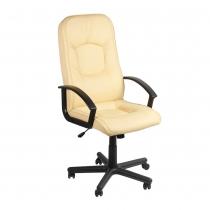 Кресло OMEGA, ECO-07, искусственная кожа, молочное, Украина
