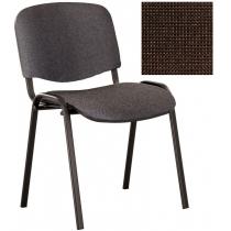 Кресло ISO-17 black, Ткань CAGLIARI, коричневый C-24