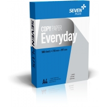 Бумага Seven Plus EVERYDAY А4, 80 г / м 500 л, класс С +