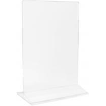 Підставка під друковану продукцію 150х200 мм, прозора