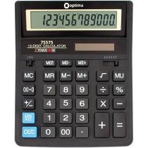 Калькулятор настольный бухгалтерский Optima O75575