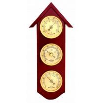 Метеостанция (барометр+термометр+гигрометр), 30см