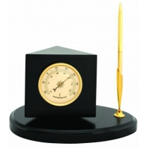 Метеостанция (годинник+термометр+гигрометр), 11см