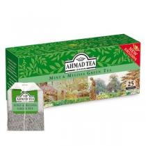 Чай Ahmad Tea, зеленый, китайский, с мятой и мелиссы, 25х1,8г в одн.п