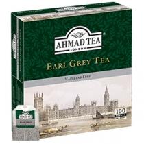 Чай Ahmad Tea, Граф Грей, чорний з бергамотом, 100х2г в однор.пак.