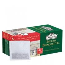 Чай Ahmad Tea, Англ.до сніданку, чорний,  40х2г в однор.пак.,економ