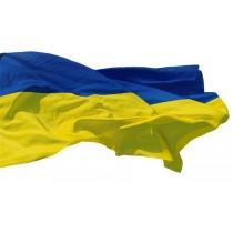 Флаг Украины, сине-желтый, 140*90, полиэстер