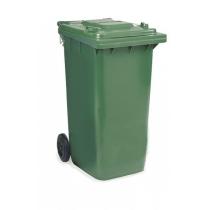 Контейнер с крышкой зеленый 240 л