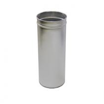 Урна нержавеющая сатиновая d-23 см h-60 см 24 л