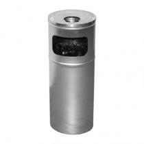 Пепельница нержавеющая сатиновая d-24 см h-60 см 15 л