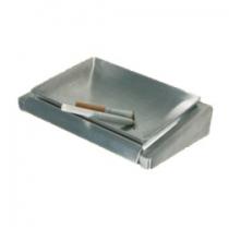 Пепельница сатиновая настенная 40x125x100 мм