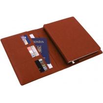 Ежедневник датированный + субобложка NEBRASKA, коричневый, А5