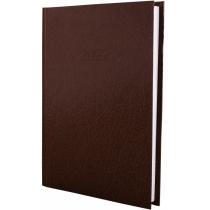 Ежедневник датированный 2020, СТИЛЬ, коричневый, А5