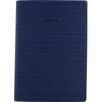 Ежедневник датированный 2019, STRIPE , синий, А5, мягкая обложка