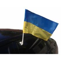 Флаг Украины сине-желтый, автомобильный 20*30