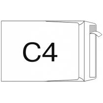 Конверт С4, 50 шт, боковой клапан