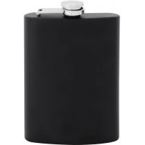 Фляга из нержавеющей стали, 240мл, черная, матовая
