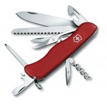 Нож Victorinox Outrider 111мм, 14 функций, красный, нейлон